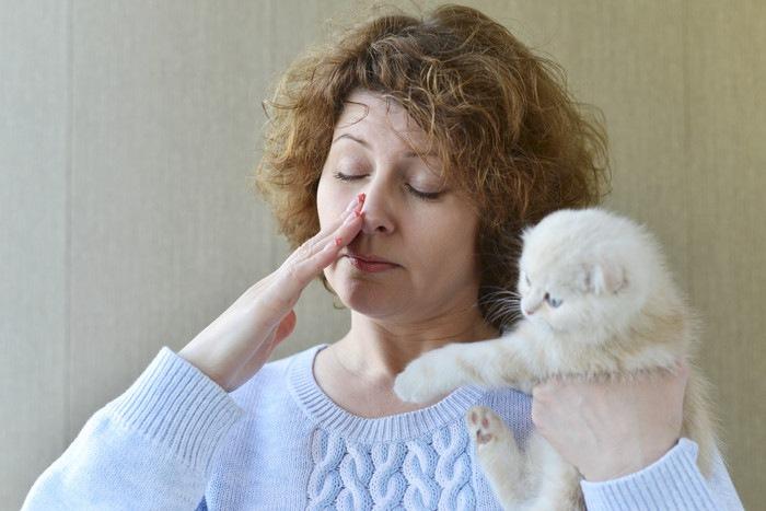 猫アレルギーイメージ