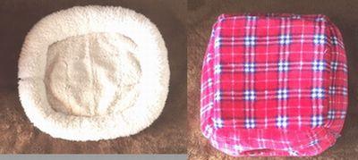 猫ベッドが2個写っている