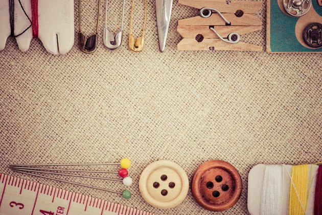 裁縫道具の写真