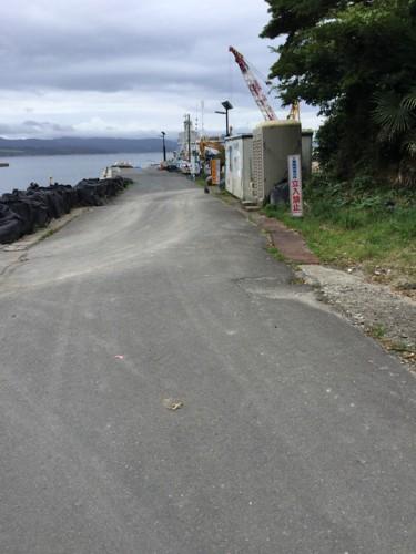 二斗田港の風景