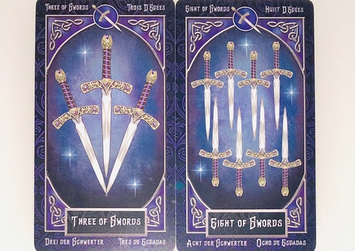 THREEofSWORDS/EIGHTof SWORDS