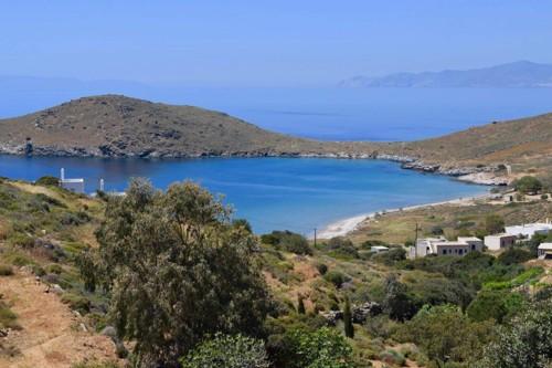 シロス島の美しい景色