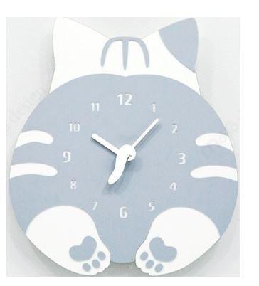 猫のおしりの時計
