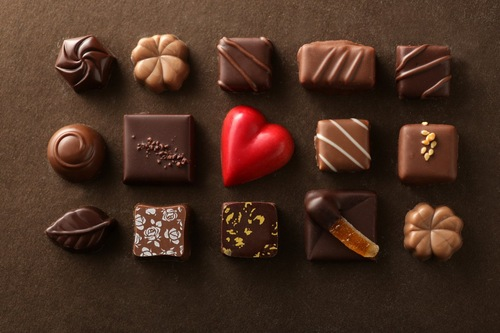 チョコレートのアソート