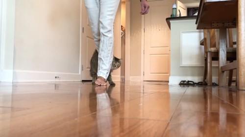 ジグザグ歩き