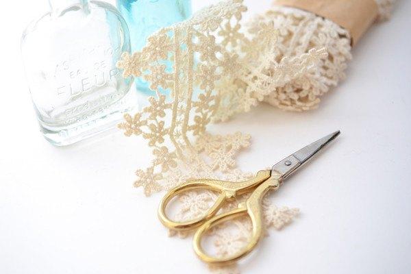 手芸用品とハサミ