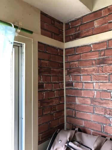 家の壁紙シート