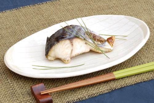 焼いた白身魚
