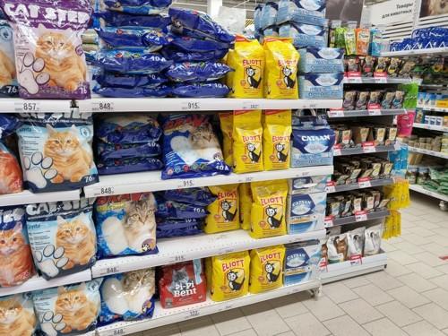 販売されている猫のご飯