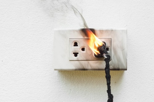 燃えるコード