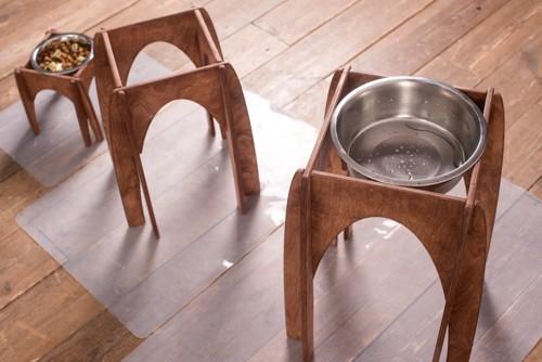 ペットの食器台