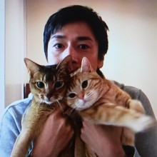 チュートリアル徳井さんと猫