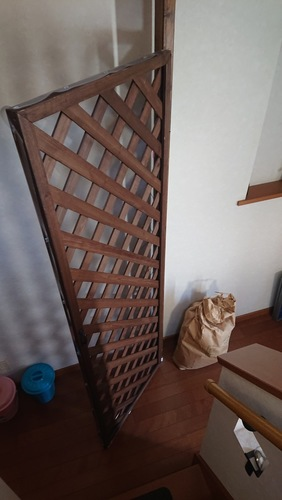 上から見た玄関ゲート