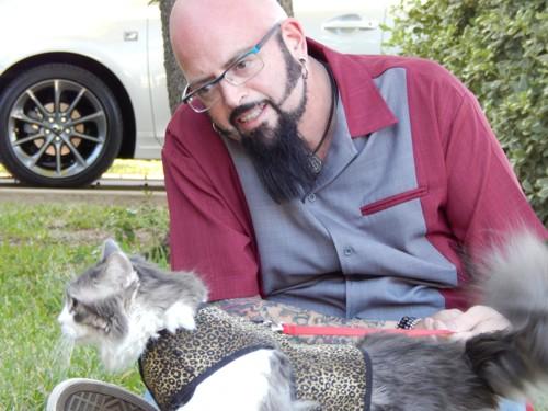 ジャクソン・ギャラクシーさんと猫
