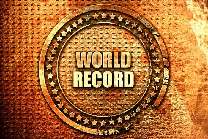 全世界の最高記録 英語ロゴ