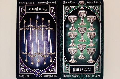 TENofSWORDS/NINEofCUPS