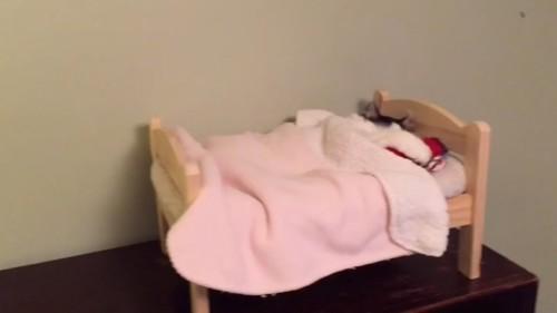 小さなベッド