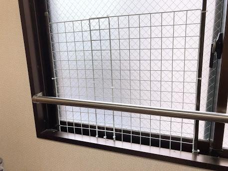 #作った網戸ガード#