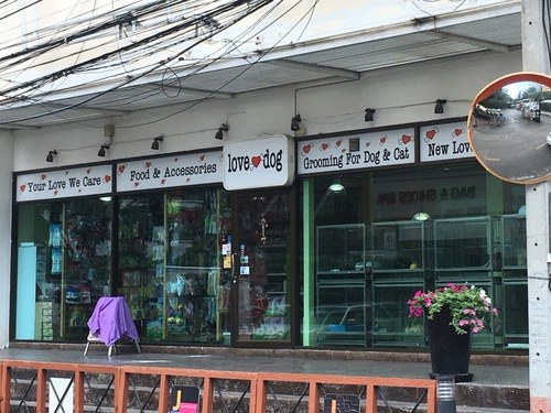 バンコクのペットショップ