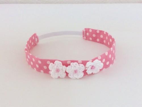 ピンクの首輪