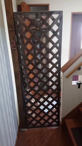 玄関ゲート