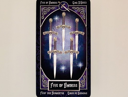 FIVEofSWORDS