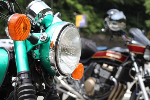 二台のバイク