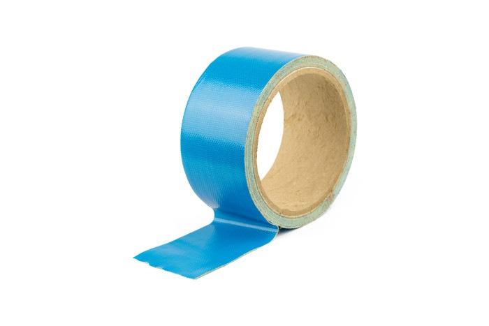 水色のテープ