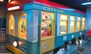 池袋の猫カフェ「ねこぶくろ」の電車