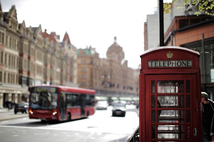 イギリスの街並みの写真