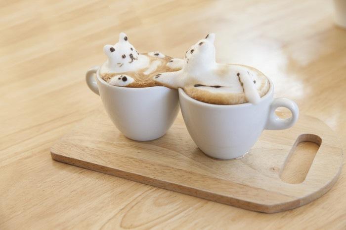 猫コーヒー
