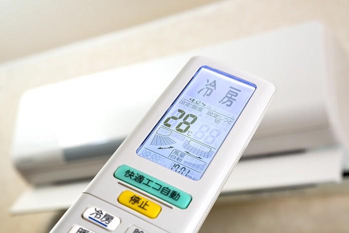 冷暖房とリモコン