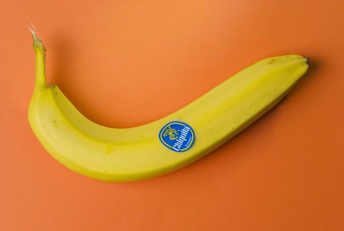 猫に食べさせるバナナ
