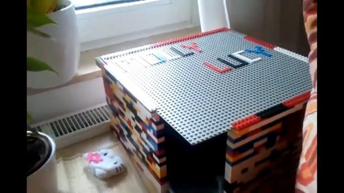 レゴでできたハウス