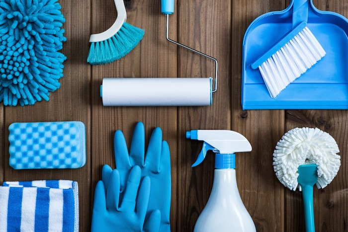 様々な掃除道具