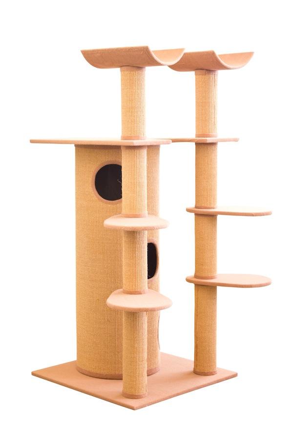 据置きタイプのキャットタワー