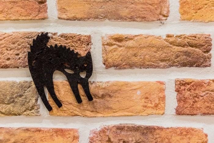 黒猫の切り絵