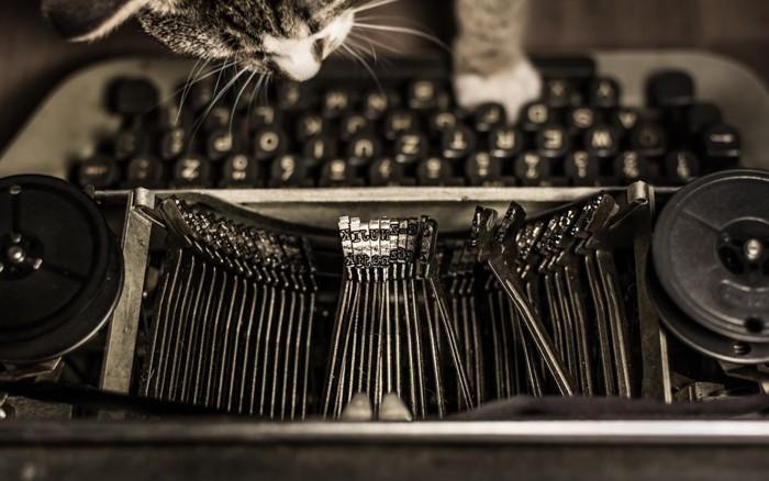 猫とタイプライター