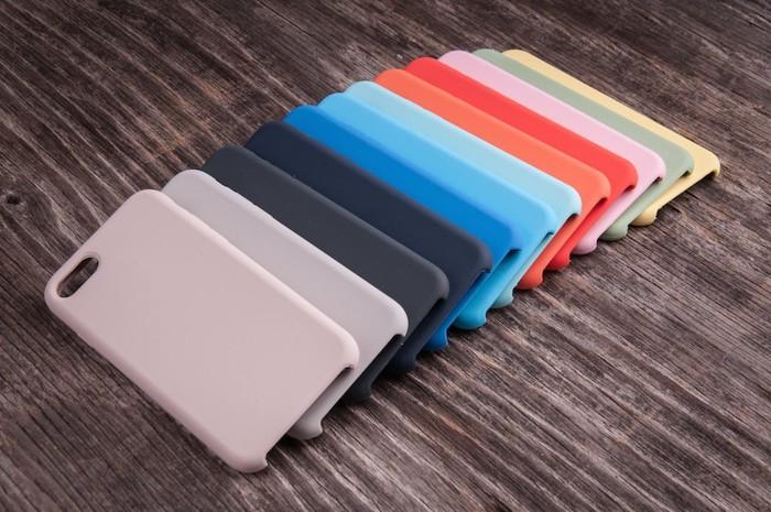 様々な色の携帯ケース型カバー