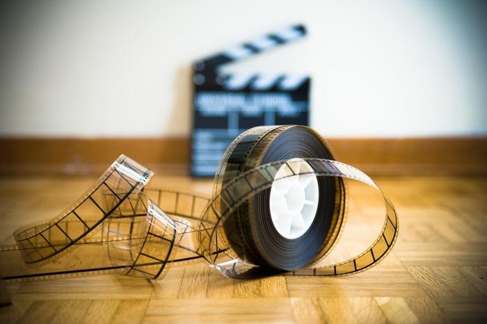 映画フィルムイメージ