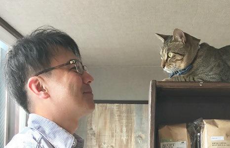 安村様と猫ちゃん