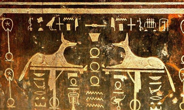古代エジプト猫の壁画