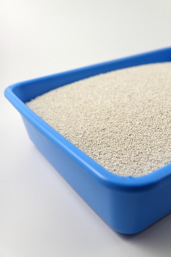 鉱物タイプの猫砂