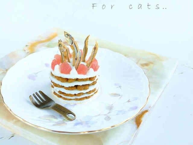 カリカリベースの簡単ケーキ