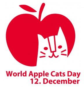 りんご猫デーのロゴ