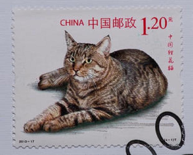 ドラゴンリー猫の切手
