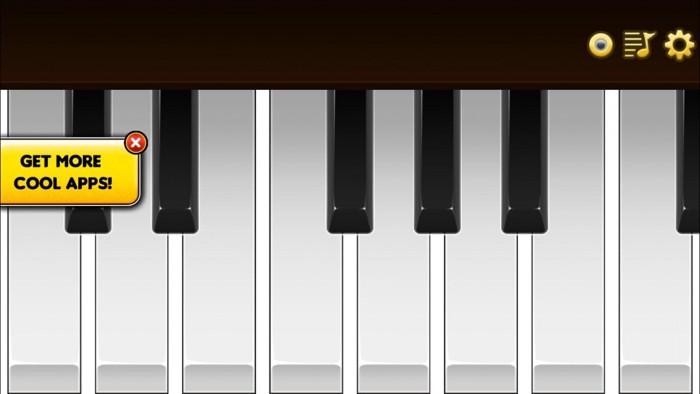 アップロード写真3 Cat Piano鍵盤画面