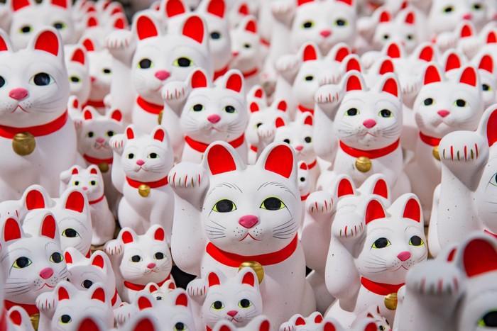 たくさんの招き猫