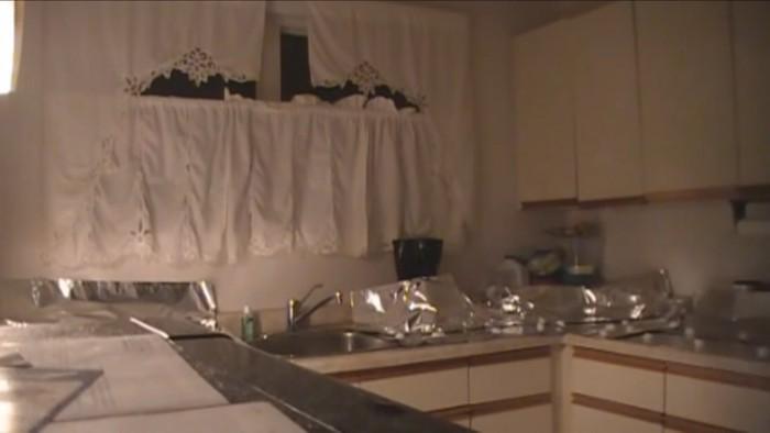 再び静かになるキッチン