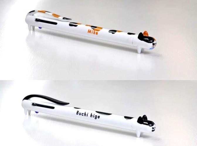 キャット3色ボールペン